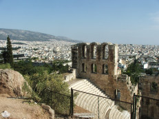 Athens beyond the Theatre of Dionysus