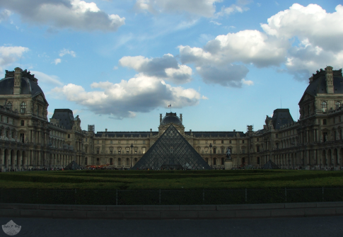 Place du Carrousel and the Louvre Museum