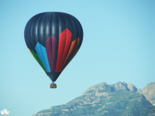Hot air balloon outside Heber City